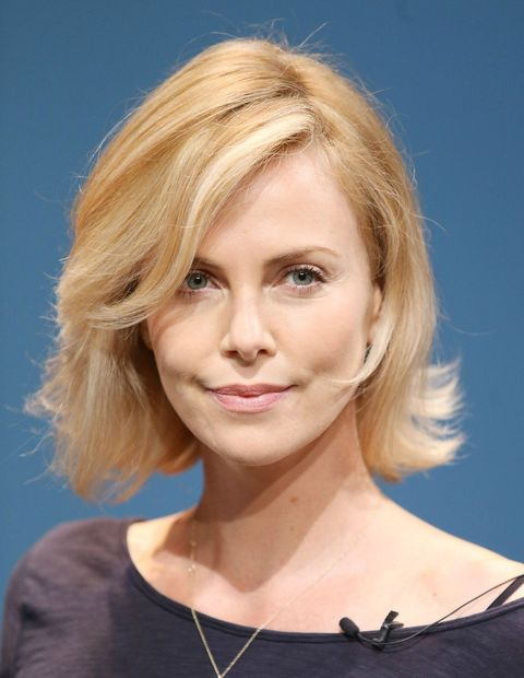 charlize theron beauty look