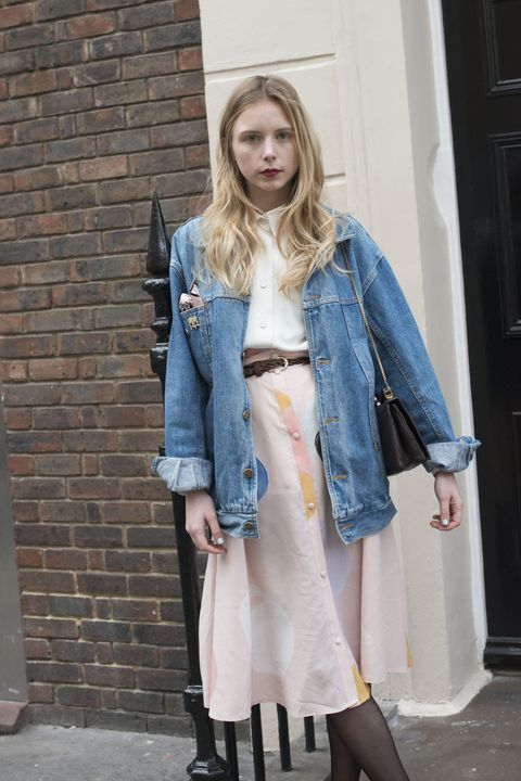giacche di jeans street style 2016