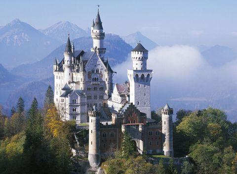 luoghi-da-favola-Castello di Neuschwanstein-Germania