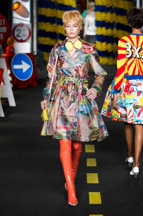 tendenze estate 2016 trench moschino