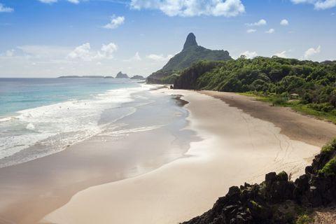 <p>A nord del Brasile, nel pieno dell'Atlantico, c'è la seconda spiaggia più votata. </p>