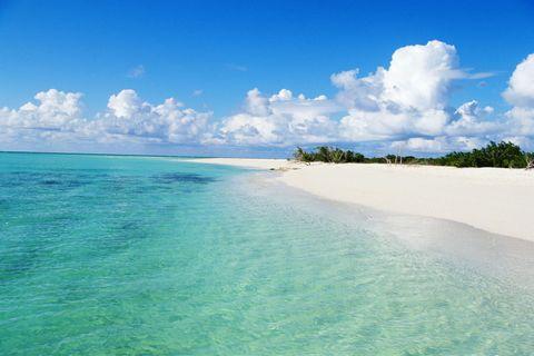 <p>È a Providenciales, nelle isole Turks e Caicos (appena a nord di Haiti) la spiaggia più bella del mondo.</p>
