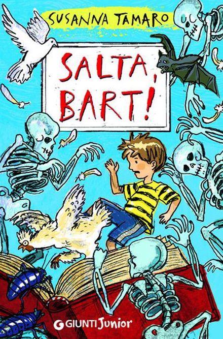 """<p>Bart è un bambino che vive in un mondo iper tecnologico: ogni fase della sua giornata è regolata dalle macchine e i genitori sono sempre via per lavoro e osservano la sua vita da un monitor. Per fortuna un giorno incontra una gallina in fuga che lo trascinerà in un'avventura incredibile.</p><p>Susanna Tamaro,<em> <a href=""""http://www.giunti.it/libri/ragazzi/salta-bart/"""" target=""""_blank"""">Salta, Bart!</a></em>, Giunti editore, pp. 240, euro 14.</p>"""