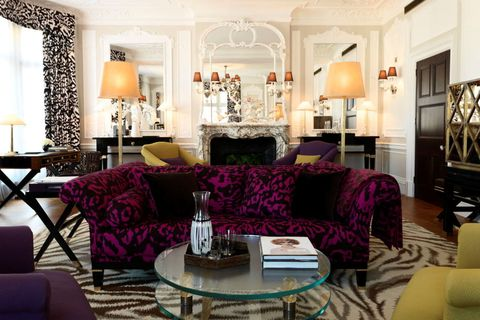 Diane von Furstenburg suite al Claridges