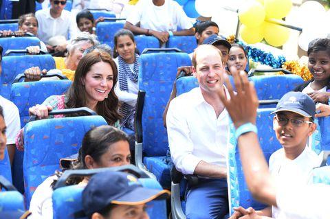 Kate Middleton in India