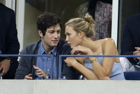 "<p><strong>Why you forget they're together: </strong>They have very few PDA-moments, but maybe that's because they're both so busy. Kushner, the son of real-estate mogul Charles Kushner and the younger brother of Ivanka Trump's hubby, Jared, is an Ivy League grad and the co-founder of Oscar Insurance. Kloss is a globetrotting supermodel, a Taylor Swift bestie, and the founder of Kode with Karlie, a scholarship for young women studying coding and computer science. Oh yeah, she's also an NYU student in her non-existent free time.</p><p><strong>How long they've been together: </strong>Since November 2012. </p><p><strong>How cute they are: </strong>Just take a look at their subtle Instagram posts to each other. If her <a href=""https://www.instagram.com/p/312b8AkSlZ/"" target=""_blank"">(Exhibit A.)</a> Talk about #CouplesGoals. </p>"