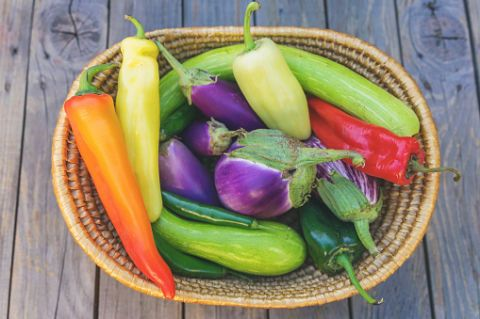 <p>Tra gli alimenti più ricchi di beta-carotene, fondamentale per la produzione della melanina, ci sono i peperoni rossi e gialli.</p>