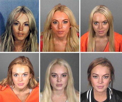 <p>Dal 2007 al 2013 Lindsay ha vissuti i suoi anni peggiori, tra arresti e condanne una via l'altra. Per ben quattro volte l'accusa è stata quella di guida in stato di ebbrezza, aggravata da incidenti stradali disastrosi: il più grave ha visto l'attrice investire in pieno un pedone che, grazie al cielo, non ha riportato ferite gravi. Lohan è stata arrestata anche per possesso di cocaina, furto (di una collana del valore di 2500 dollari) e per violazione dei termini della libertà condizionale.</p>