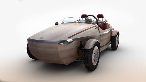 """<p>Via Tortona 31, è questione di un «attimo». L'abbiamo messo tra virgolette perché «attimo» è ciò che significa la parola <em>Setsuna</em>, che è poi il nome del concept elaborato da <a href=""""https://www.toyota.it/?gclid=CIbZrLaBkcwCFQtAGwodRo8NFQ"""" target=""""_blank"""">Toyota</a> ed esposto al Fuorisalone. Un gioiello: una spider (meglio, roadster) lunga 3 metri e assemblata con 86 pannelli di legno realizzati a mano secondo le regole dell'arte giapponese dell'Okuriari. Ovvero a incastro, senza uso di viti e chiodi. Betulla, cedro e olmo formano un'auto alimentata da un motore elettrico a 25 km di autonomia e dalla velocità di punta di 45 km/h. Ovvio, su strada non la vedremo mai. Ed è un peccato, perché è bellissima.</p>"""