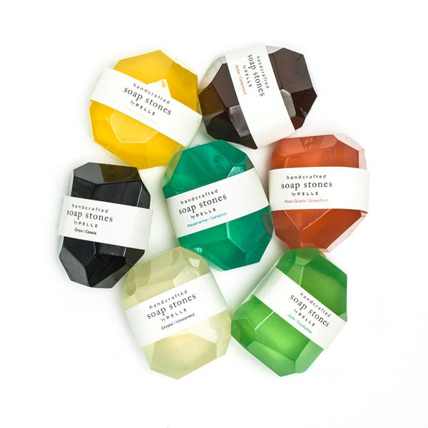 saponette profumate e decorate soap stone