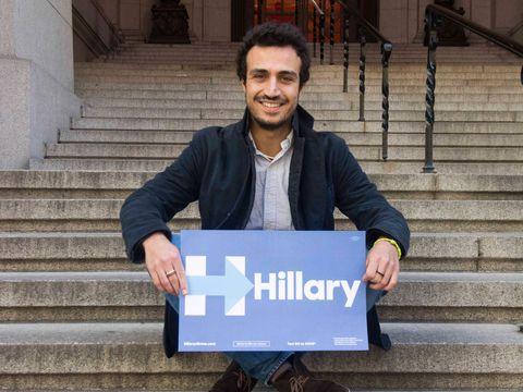 Mattia Tarelli, l'unico italiano nello staff di Hillary Clinton durante la campagna per le primarie alle elezioni presidenziali degli Stati Uniti