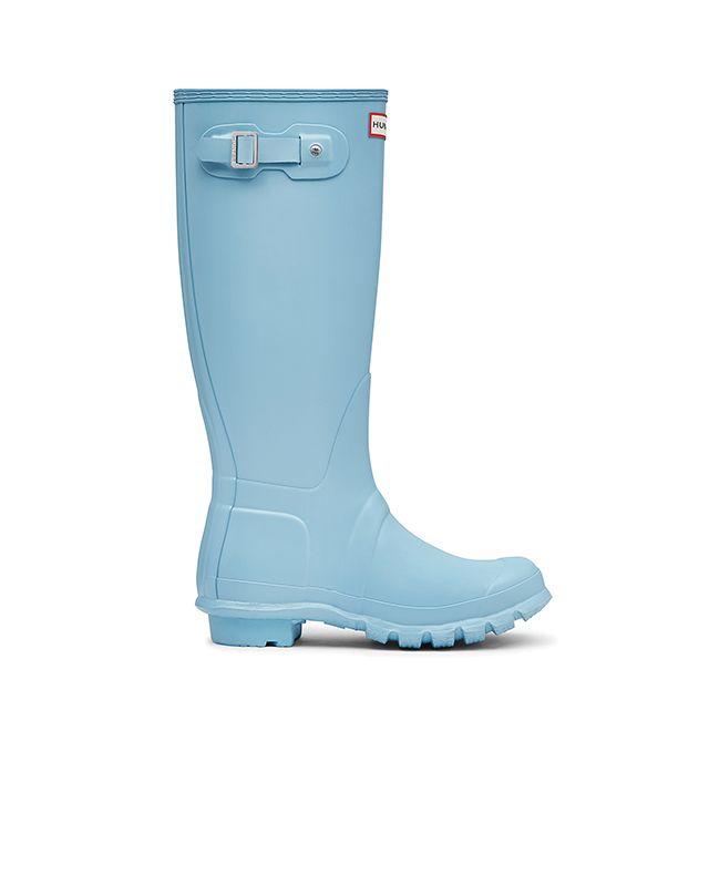<p>Azzurro cielo per gli stivali di gomma, Hunter Originals.</p>