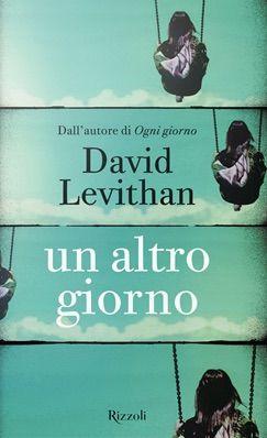 <p>Il primo volume della serie, <em>Ogni giorno</em>, era stato un piccolo caso editoriale. Oggi esce quello che viene impropriamente definito il seguito: in realtà si tratta della medesima storia, raccontata questa volta dalla protagonista femminile, Rhiannon. Una ragazza che si innamora di un angelo.</p><p>David Levithan, <em>Un altro giorno</em>, Rizzoli, pp. 376, euro 16.</p>