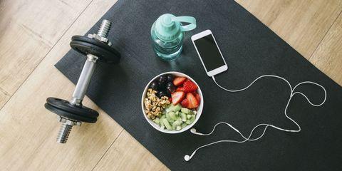 Cosa mangiare prima della palestra e anche dopo l'allenamento