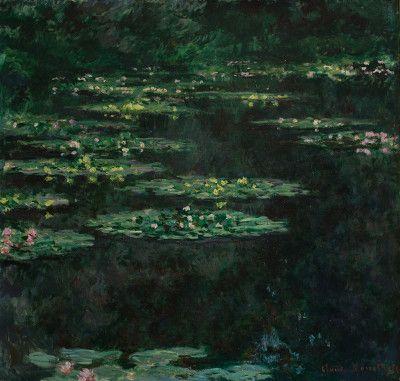<p>Claude Monet, <em>Ninfee</em>, 1904. Olio su tela. Museo d'arte moderna André Malraux.</p>