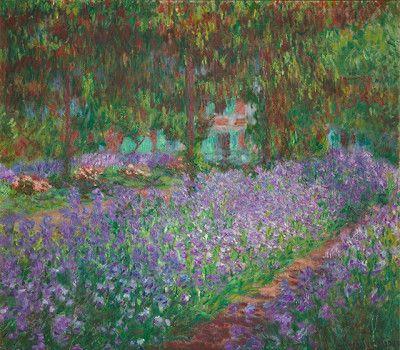 <p>Claude Monet,<em> Il giardino dell'artista a Giverny</em>, 1900. Musée d'Orsay.</p>