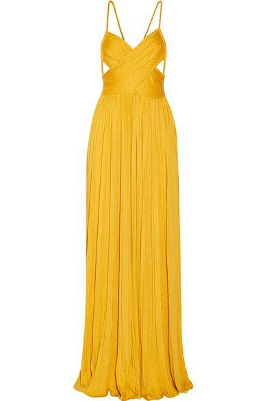 cannes 2016 abito giallo