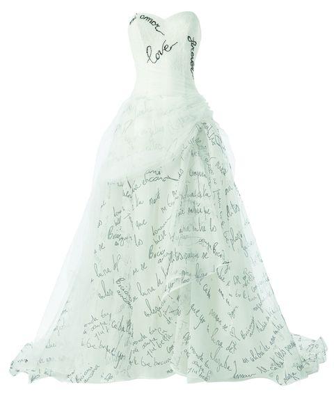 <p>Sogni un matrimonio vip? Scegli un abito rock dalla collezione sposa Atelier Emé. Melissa Satta lo ha già fatto. Chissà se avrà puntato anche lei gli occhi sul nostro abito preferito, con le stampe <em>Lettera d'amore...</em></p>