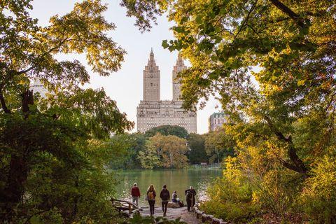 <p>Una vera e propria tappa classica per chi ama correre è il parco più famoso del mondo, Central Park. Tre chilometri quadrati e mezzo di verde da girare in lungo e in largo, con il passo che si preferisce. Anche solo camminando infatti è piacevole perdersi, per ammirare lo splendido panorama, unico al mondo, di un cuore verde contornato da grattacieli.</p>