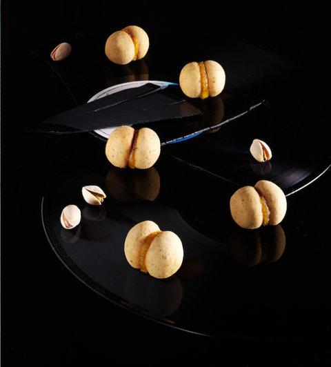 Ricette-al-pistacchio-baci di dama