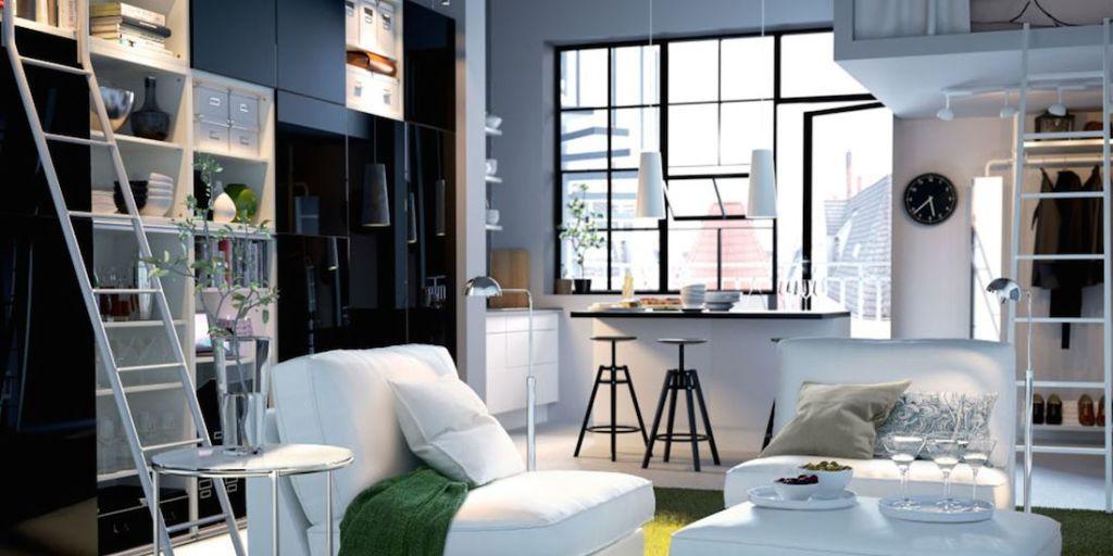 Arredare il soggiorno con 10 idee salvaspazio