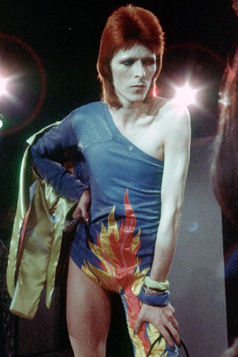 <p>An electric alter ego, from the sound to the hair to the iconic lightening bolt face paint.</p>