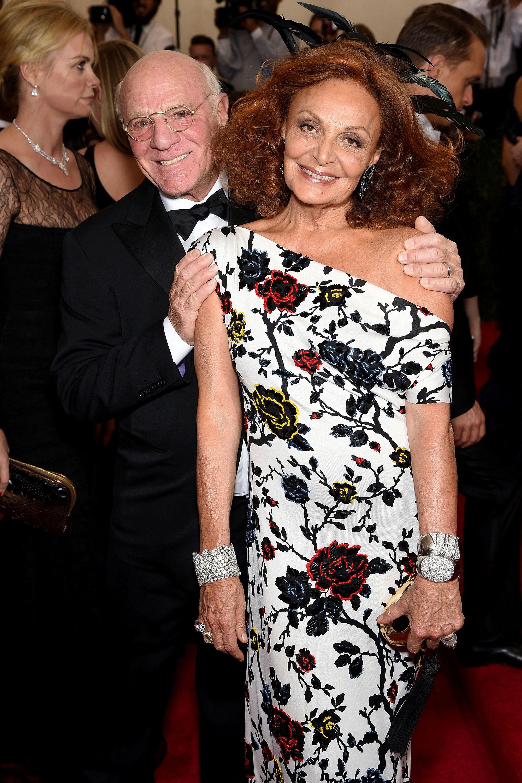 <p>Barry Diller & Diane von Furstenburg</p>