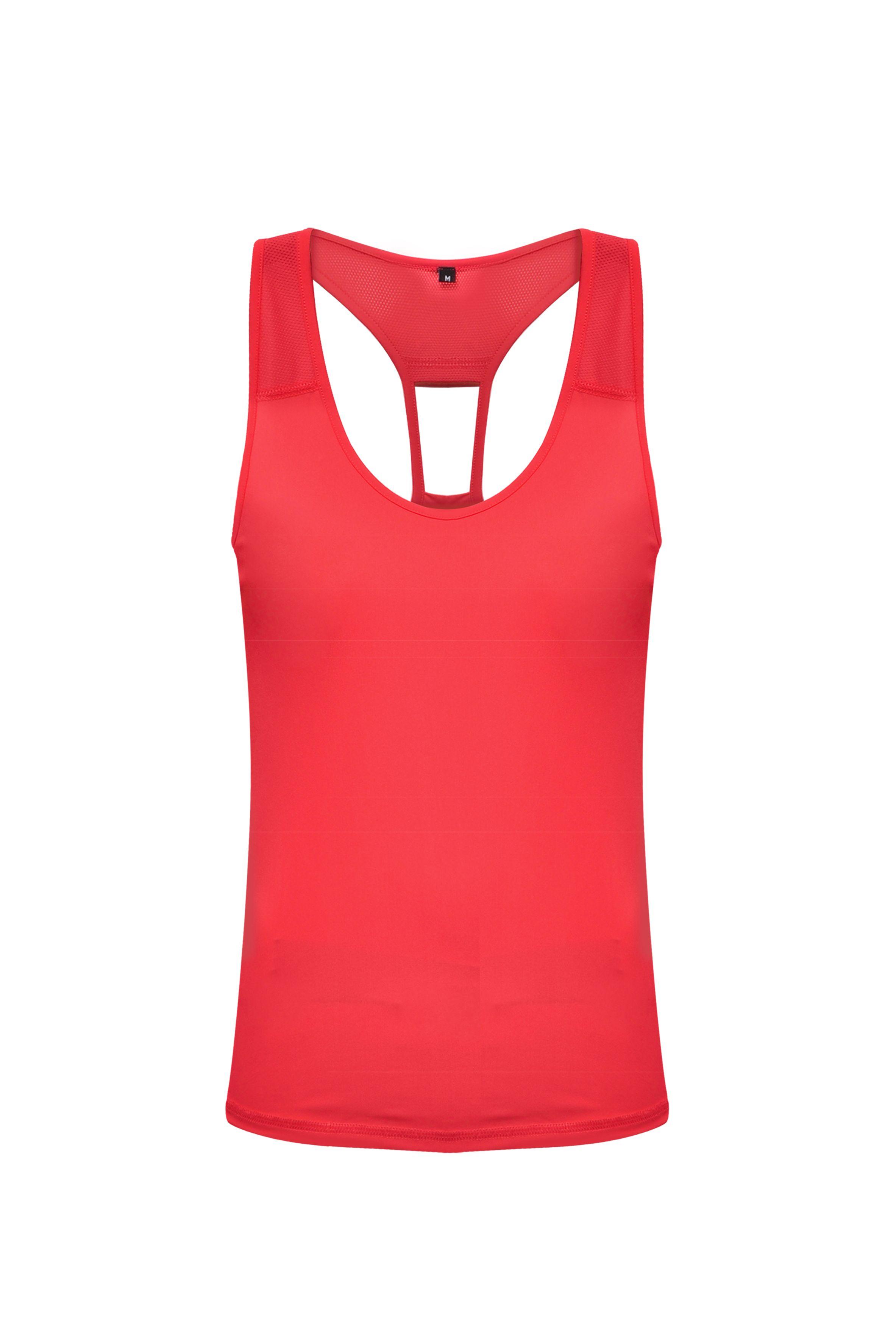 <p>Per le più sportive, amanti dell'attività all'aria aperta, ecco il colore giusto: il rosso corallo della canotta in tessuto tecnico di Colmar. Un capo non solo per il mare, ma anche per il tempo libero in città!</p>