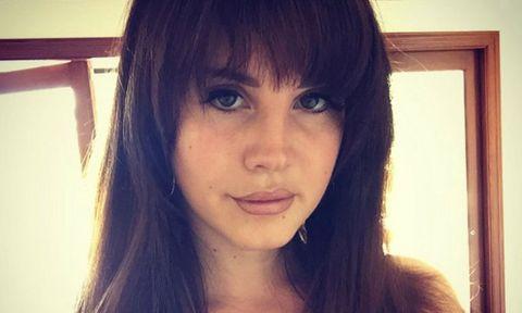 Lana Del Rey capelli