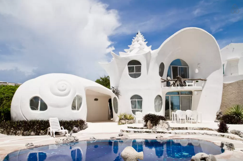 AIRBNB-The Seashell House Casa Caracol 