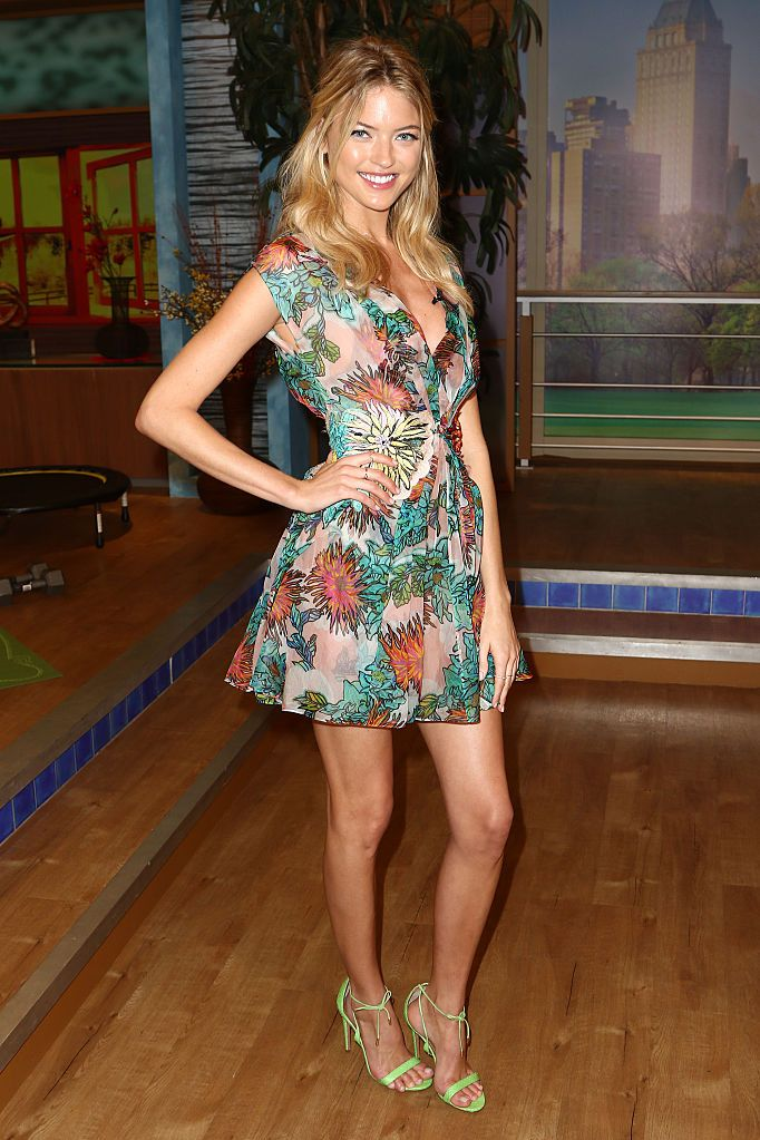 martha hunt look stile