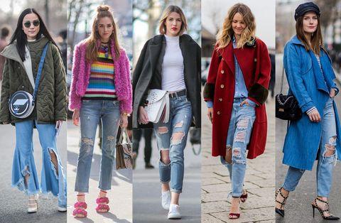 <p>Incredibile che qualcuno decida di comprarsi un paio di pantaloni con i buchi. Eppure... È la nuova grande tendenza delle jeansmaniache che se ne vanno in giro indisturbate con le ginocchia, e non solo, di fuori. Le più brave riescono a essere persino chic.</p>