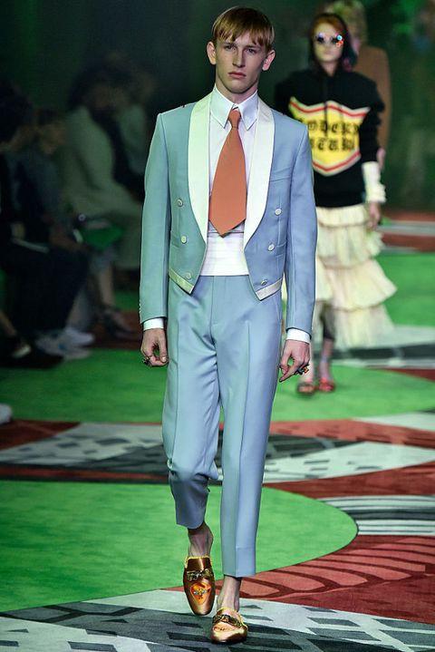 milano moda uomo 2016 Gucci primavera estate 2017