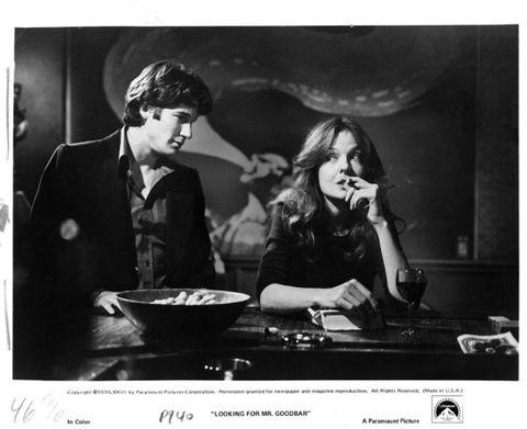 <p>Al fianco di Diane Keaton nel film drammatico diretto da Richard Brooks.</p>