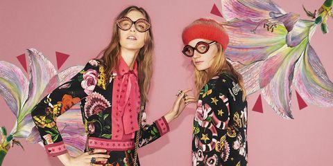 Eyewear, Vision care, Glasses, Pink, Fashion accessory, Cool, Goggles, Magenta, Bracelet, Animation,