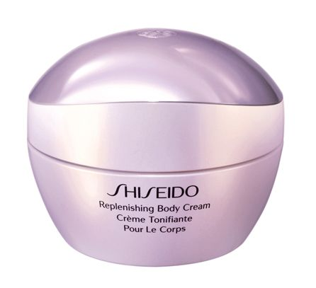 <p>Replenishing, Body Cream. <strong>Shiseido</strong> (€ 74)</p>