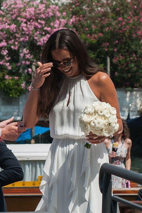 Ana Ivanovic e Bastjan Schweinsteiger  matrimonio a Venezia