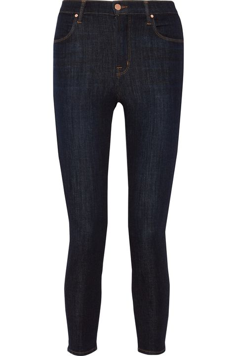 """<p><strong>J Brand</strong> jeans, $230, <a href=""""https://www.net-a-porter.com/us/en/product/714524/j_brand/alana-cropped-high-rise-skinny-jeans"""" target=""""_blank"""">netaporter.com</a>. </p>"""