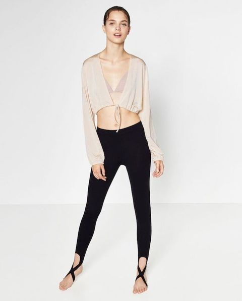 abbigliamento danza low cost: zara ballet collection
