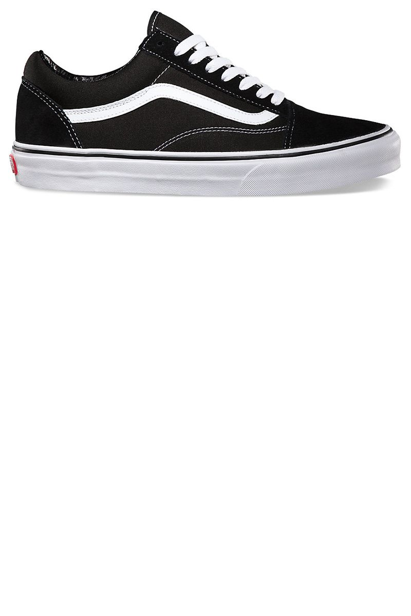 "<p><strong>Vans</strong> Old Skool sneakers, $60, <a href=""http://www.vans.com/shop/suede-canvas-old-skool-black-white?cm_mmc=LinkShare-_-Affiliate-_-TnL5HPStwNw-_-321433&utm_source=linkshare&utm_medium=affiliate&utm_campaign=TnL5HPStwNw&ranMID=24747&ranEAID=TnL5HPStwNw&ranLinkID=10-1&ranSiteID=TnL5HPStwNw-Pb36Czh2IWDgT1xMM07mDw"" target=""_blank"">vans.com</a>. </p>"