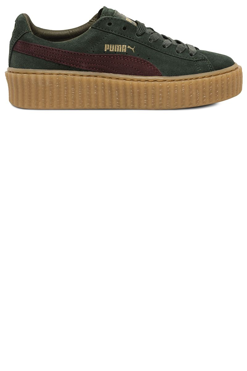 """<p><strong>Puma by Rihanna</strong> creepers, $140, <a href=""""http://shop.nordstrom.com/s/puma-by-rihanna-creeper-sneakerwomen/4139950?origin=category-personalizedsort&fashioncolor=ORANGE%2F%20OATMEAL"""" target=""""_blank"""">nordstrom.com</a>.</p>"""