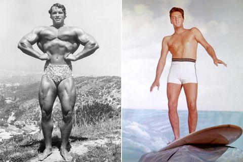 Uomini in costume da bagno: slip o boxer?