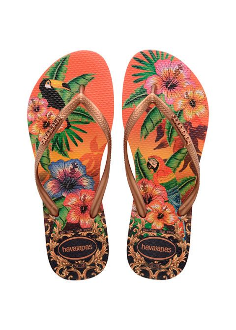 <p>Infradito coloratissime, <strong>Havaianas</strong>.</p>