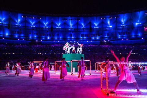 olimpiadi 2016: le foto della cerimonia di chiusura in vista di tokyo 2020