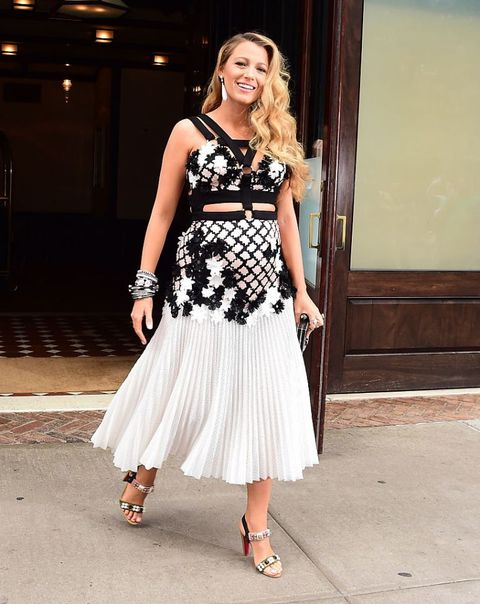 blake lively incinta look