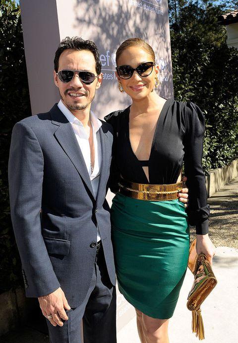 coppie famose 2016: ritorno di fiamma Jennifer Lopez e Marc Anthony