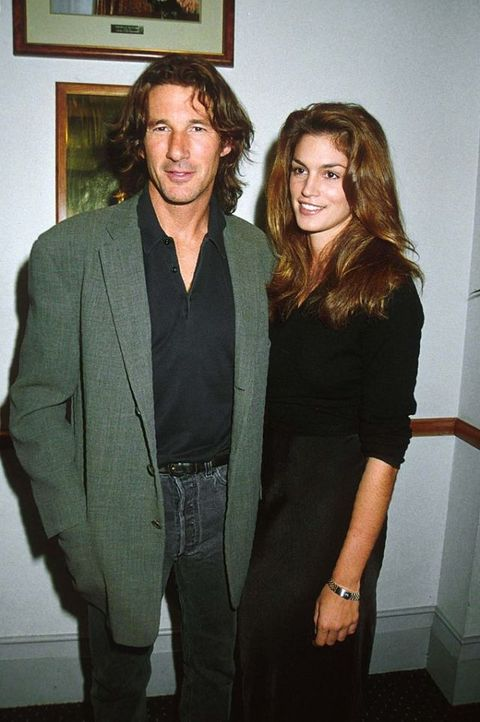 Richard Gere e Cindy Crawford matrimonio