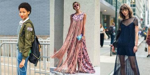 New York fashion week: lo street style delle sfilate primavera 2017