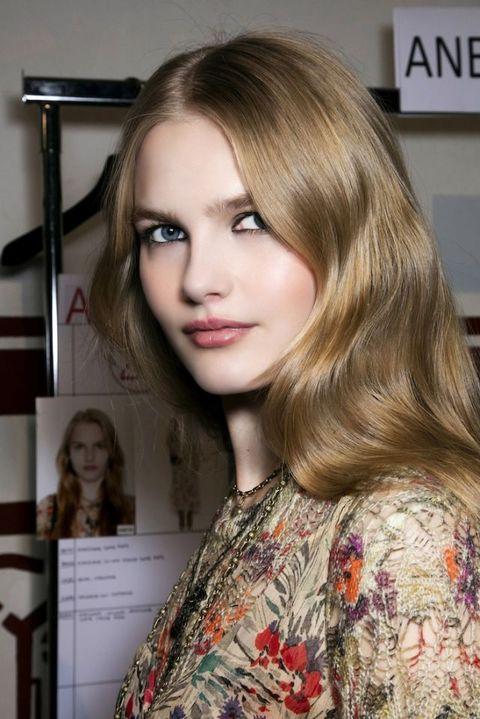 Nose, Lip, Hairstyle, Eye, Eyebrow, Eyelash, Style, Beauty, Fashion, Long hair,