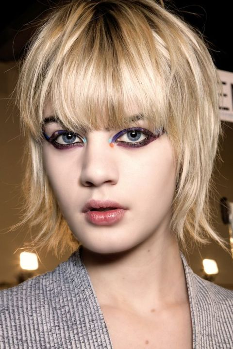 Lip, Mouth, Hairstyle, Chin, Eyebrow, Eyelash, Bangs, Style, Jaw, Step cutting,